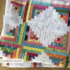 crazy mom quilts: this is going to take awhile