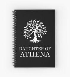 Daughter of Athena Cuaderno de espiral