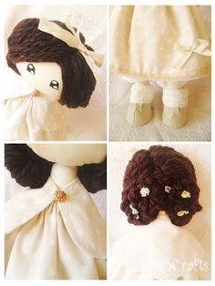 Handmade Doll. Tilda. AnnCrafts Design