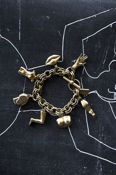 Kelly Wearstler Dichotomy Charm Bracelet
