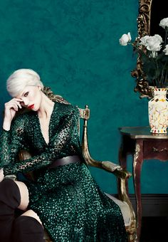 The Art of Fashion Fall 2012 campaign featuring Akris. Photographed by Erik Madigan Heck.