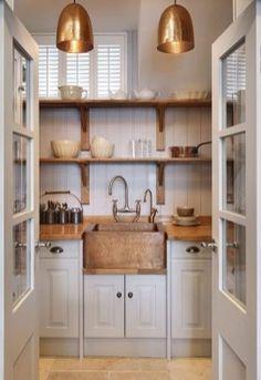 Gorgeous Small Kitchen Design Idea 117