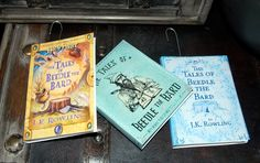 DIY Tales of Beedle the Bard Ornaments! Visit my site for free home use only template downloads ;)