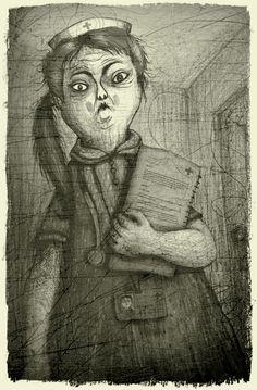 Nurse Hill by V-L-A-D-I-M-I-R.deviantart.com on @DeviantArt
