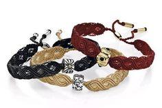 Pandora-Macrame Bracelets <3