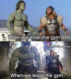 Funny Workout Quotes QUOTATION – Image : Quotes Of the day – Description Gym rat – Tap the pin if you love super heroes too! Cause guess what? you will LOVE these super hero fitness shirts! Sharing is Caring – Don't forget to share this quote ! Marvel Avengers, Avengers Memes, Marvel Jokes, Marvel Funny, Workout Memes, Gym Memes, Funny Memes, Funny Workout, Workouts