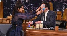 Los Angeles: Actress Priyanka Chopra took the spirit of Holi to New York in desi style when she had an impromptu live celebration with TV host Jimmy Fallon on his popular chat show. The actress lived up the fervour of the festival of colours, which was celebrated in India on March 13, with...