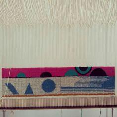 Instagram chaumiere.oiseau ○○○ weaving tapestry
