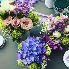 Do it yourself - Blumengestecke zur Konfirmation
