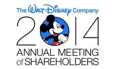 Disney Shareholder Meeting Wrap Up. via Dole Whip Daily Blog