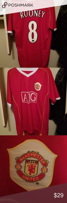 75b2d6473 Wayne Rooney  8 Manchester United Football Jersey Good condition. Tag   soccer 😏 Shirts Tees - Short Sleeve