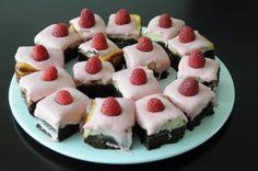 Raspberry Cheese Cake Brownies