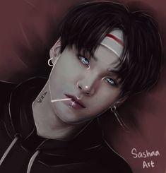 Read Suga Vampire ♥ from the story Fanart BTS - Bangtan Boys by SugaDreamEuphorie (K-Euphorie) with reads. Hoseok, Namjoon, Taehyung, Seokjin, Foto Bts, Wattpad, Bts Bangtan Boy, Jimin, Bts Art