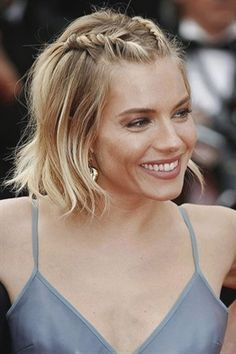 23 Stunning and Easy Hairstyles for Short Hair; French braid hairs… 23 Stunning and Easy Hairstyles for Short Hair; French braid hairs…,Braid 23 Stunning and Easy Hairstyles for Short Hair; Short Hair Styles Easy, Braids For Short Hair, Curly Hair Styles, Natural Hair Styles, How To Style Short Hair, Short Hair Designs, Hair Styles Casual, Easy Hair Braids, Braid Hair Styles