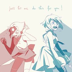 Pearl want to do it for Rose and Lapis wants to do it for Steven omg feels