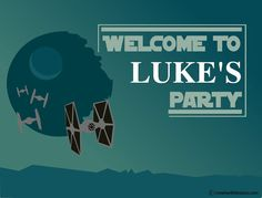 Hey, I found this really awesome Etsy listing at https://www.etsy.com/listing/205939495/star-wars-welcome-sign-diy-printable
