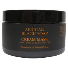 SheaMoisture's African Black Soap Problem Skin Mask deeply cleanses by drawing out impurities and absorbing excess oil. Helps refine skin while addressing problems associated with acne. Skin feels clean and refreshed. African Black Soap, Skin Mask, Facial Care, Tea Tree Oil, Skin Problems, Beauty Shop, Facial Masks, Shopping Hacks, Beauty Hacks