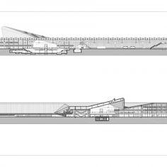 Rotterdam Central Station - floor plan