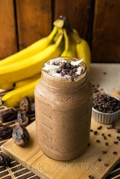 chocolate & banana smoothie Add some healthy It Works ProFIT Protein from www.CrazyWrapBiz.com