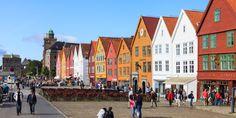 Bergen, Norwegen / Shutterstock.com Bergen, Oslo, Karaoke, Stockholm, Norway, Street View, Romantic Ideas, Mountains
