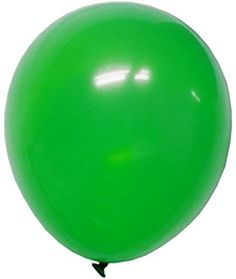"""Custom, Fun & Cool {Big Large Size 12"""" Inch} 72 Pack of Helium & Air Inflatable Latex Rubber Balloons w/ Circus Design [in Bright Green Color] mySimple Products"""