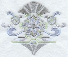 Machine Embroidery Designs at Embroidery Library! - Art Deco