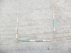Le produit Collier fin bohème en gold filled 14k est vendu par My-French-Touch dans notre boutique Tictail.  Tictail vous permet de créer gratuitement en ligne un shop de toute beauté sur tictail.com
