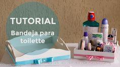 Tutorial | Bandeja para toilette (e como pintar MDF)