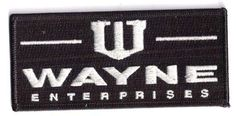 BATMAN-Wayne-Industries-4-5-Embroidered-Patch-FREE-S-H-BMPA-17