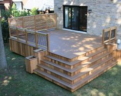 Home Decor Traditional Deck. ガーデンデッキのインテリアコーディネイト実例