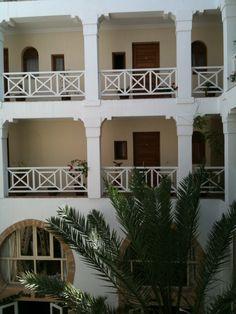 Tea time at the Riad Al Medina Essaouira Medina, Bicycles, Tea Time, Garage Doors, Mansions, House Styles, Outdoor Decor, Food, Home Decor
