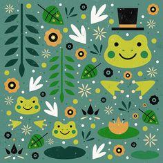 Carly Watts Art & Illustration: Frog Pond