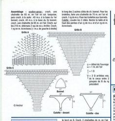 Crochet Patterns to Try: Free Chart for Crochet Bikini Swimsuit - 2 Bikini Models