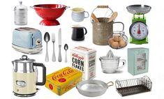 La cucina vintage: accessori utili e belli per chi ama lo stile retrò | Vita su Marte