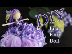Fairy Crafts, Dyi Crafts, Cute Crafts, Felt Crafts, Doll Videos, Clothespin Dolls, Paper Flower Tutorial, Doll Tutorial, Flower Fairies