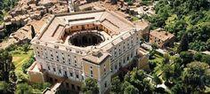 Risultati immagini per caprarola palazzo farnese Palace, Star Fort, Villa, Mansions, Architecture, House Styles, Beautiful, Home, History