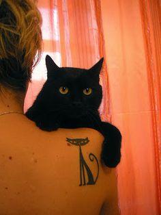 Significados de Tattoos de Gato