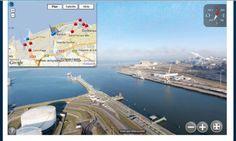 Visite virtuelle du port de Dunkerque (utile en géographie)