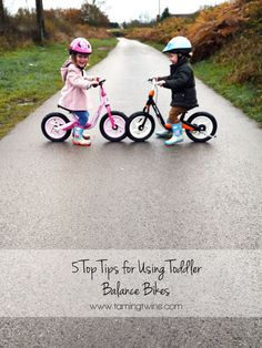 5 Top Tips for Teaching Toddlers to Learn to Ride a Balance Bike - TamingTwins - http://www.tamingtwins.com