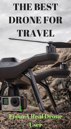 "The best drone for travel from a real drone user. As a full-time traveler and a commercial drone pilot, I get asked all of the time, ""What are the best drones for travel?"" While this is not a question with a straight forward answer, there are many drone options out on the market today that will work well for travel. The goal is to make the selection process easy for you, click to read more at http://www.divergenttravelers.com/best-drones-for-travel/"