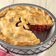 Tips for thickening fruit pies from KAF