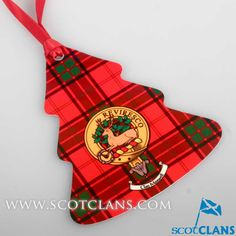 Maxwell Clan Crest Christmas Ornament