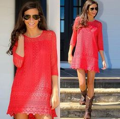 Red Boutique Dresses