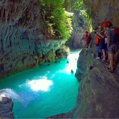 Badian, Cebu, Philippines - Canyoneering - Photo by @vitoselma