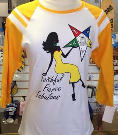 I so want this!  Eastern Star women - Faithful, Fierce, Fabulous...