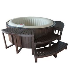 1000 ideas about spa gonflable on pinterest jacuzzi intex spa gonflable i - Jacuzzi gonflable carre ...