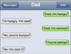Who's on first? Funny Dad!