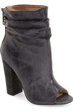 Free shipping and returns on Kristin Cavallari'Liam' Peep Toe Bootie(Women) at Nordstrom.com. Gentle ruchinggives a stylishly slouchy look to an on-trend bootiewith a flirty peep toe shaped from smooth, marbled leather.