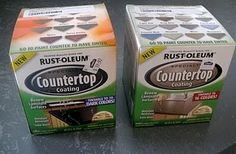 painting your kitchen countertops