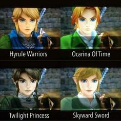 OoT looks the best :) though I may be a bit biased<<<Hyrule Warriors- the animation keeps getting better!